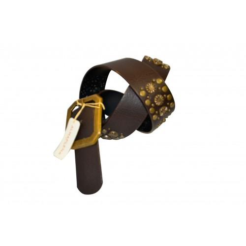 Cintura donna Almaplena Vera pelle marrone