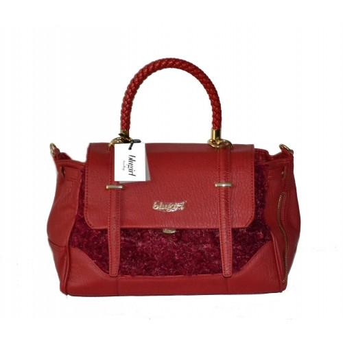 0b83ccf8a7541 Borsa Blugirl By Blumarine rossa prezzo outlet - 50 %