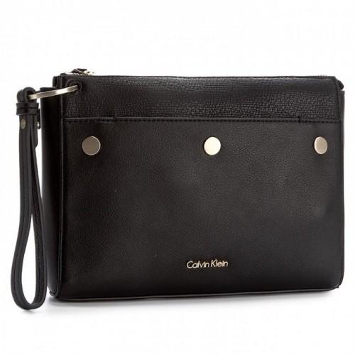 Borsetta donna Calvin Klein LE4 Clutch pochette nera