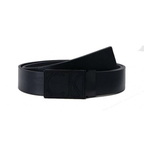 Calvin Klein cintura uomo vera  pelle TG. 115  nera
