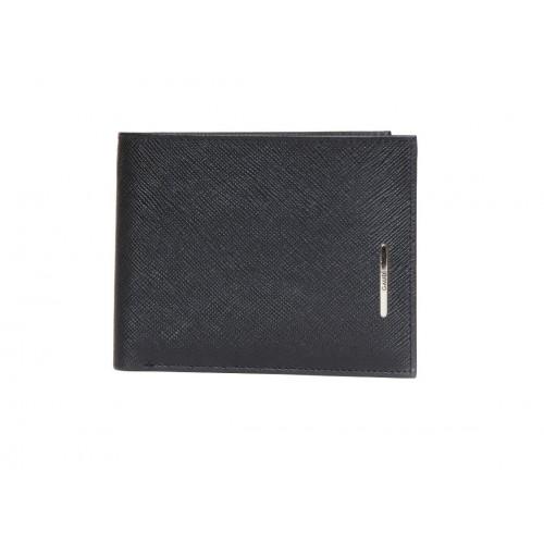 Portafoglio uomo Gaudi' con porta carte di credito nero
