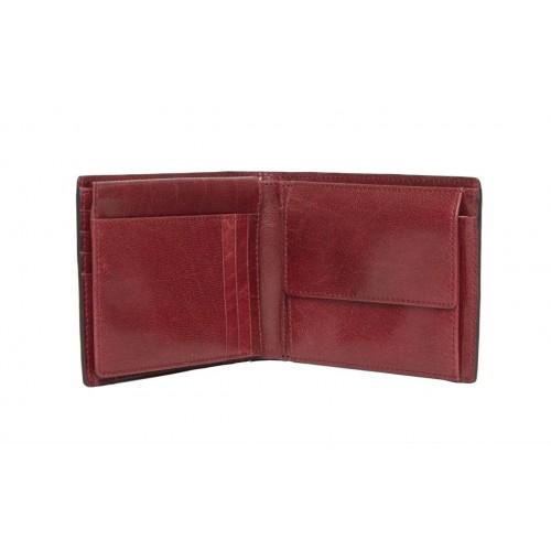 Gaudi' portafoglio uomo con portamonete bicolore