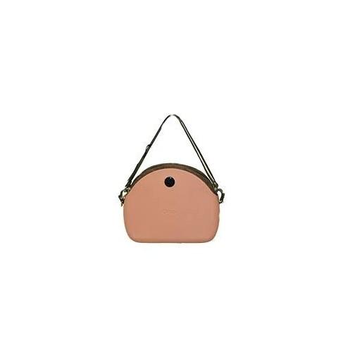 Borsa O bag moon light scocca rosa con sacca e manici