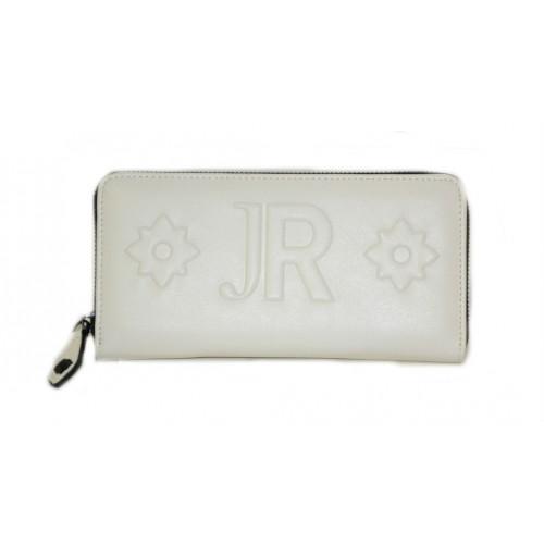 Portafoglio John Richmond donna bianco con zip