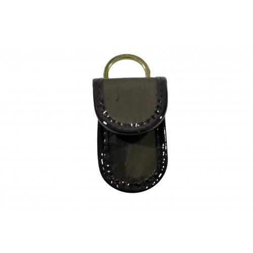 Portachiavi da borsa Alviero Martini marrone silk