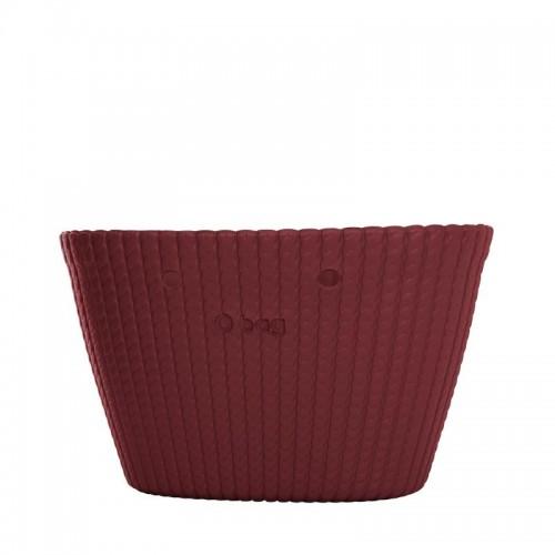 scocca o bag o bag knit bordeaux silvanaccessorimoda vendita on line. Black Bedroom Furniture Sets. Home Design Ideas