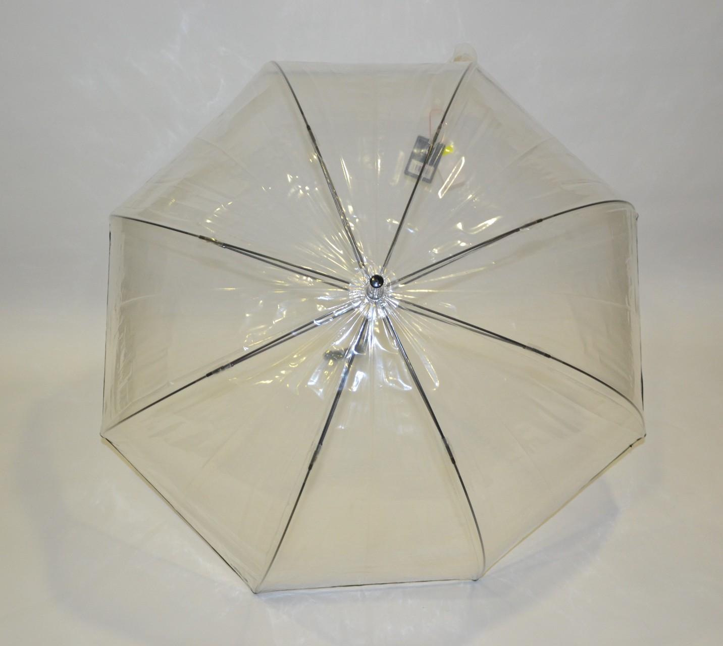 Ombrello lungo trasparente 56 cm 8 Ribs Speed Gabol